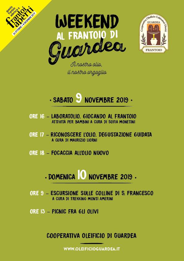 Frantoi Aperti in Umbria a Guardea - Manifesto_A4
